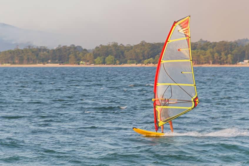 Planche à voile - Lac des Sables